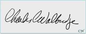 Charlie Walbridge Signature