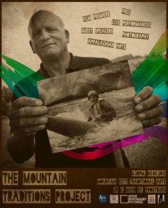 Film Poster that features Charlie Walbridge